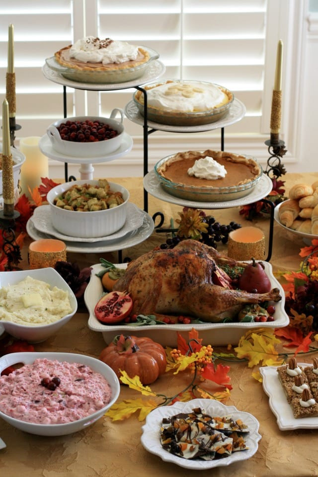 Desserts For Thanksgiving Dinner  CLASSIC THANKSGIVING DINNER & DESSERT RECIPES THE