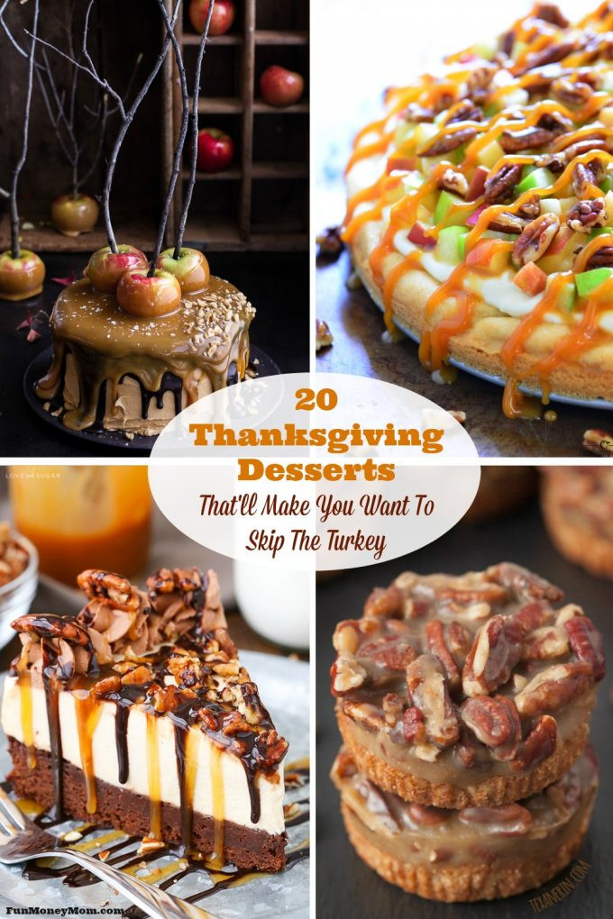 Desserts For Thanksgiving Dinner  20 Thanksgiving Desserts That ll Make You Want To Skip The