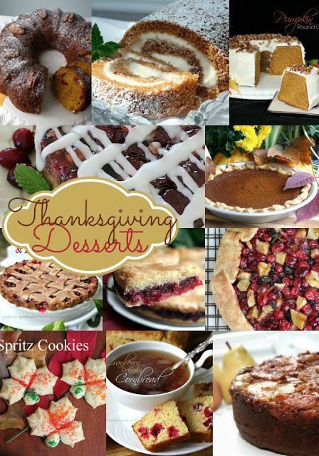 Desserts For Thanksgiving Dinner  With a Grateful Prayer and a Thankful Heart Collection of