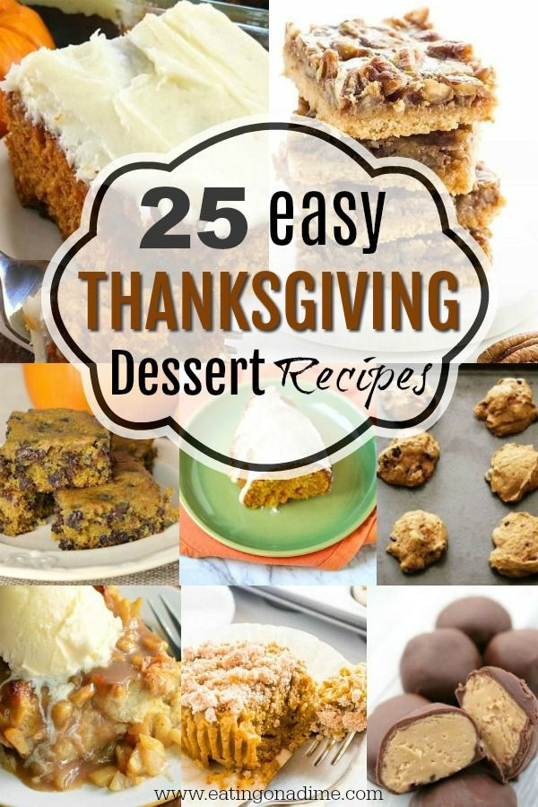 Desserts For Thanksgiving Dinner  1789 best Eating on a Dime images on Pinterest