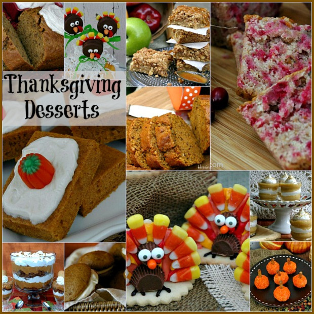 Desserts For Thanksgiving  Thanksgiving Countdown Day 10 Desserts Hoosier Homemade