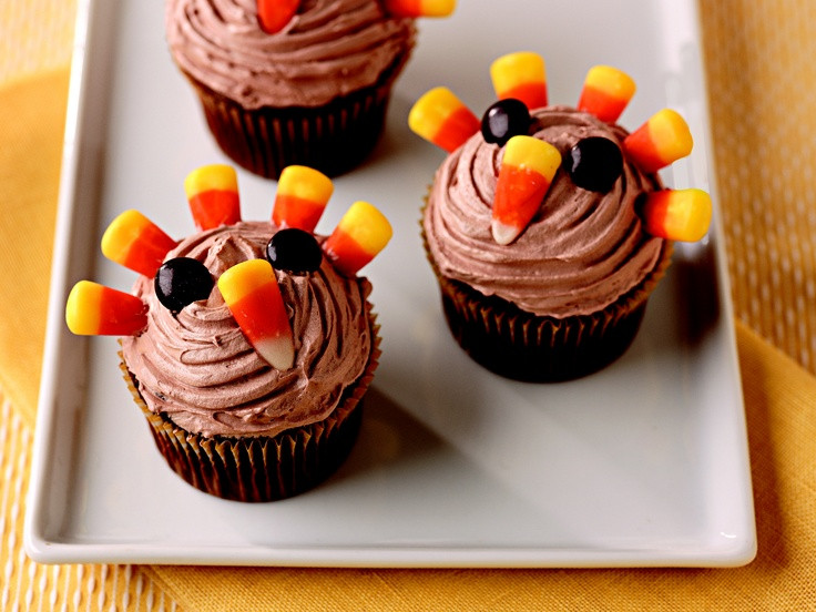 Desserts To Make For Thanksgiving  17 Best ideas about Turkey Cupcakes on Pinterest