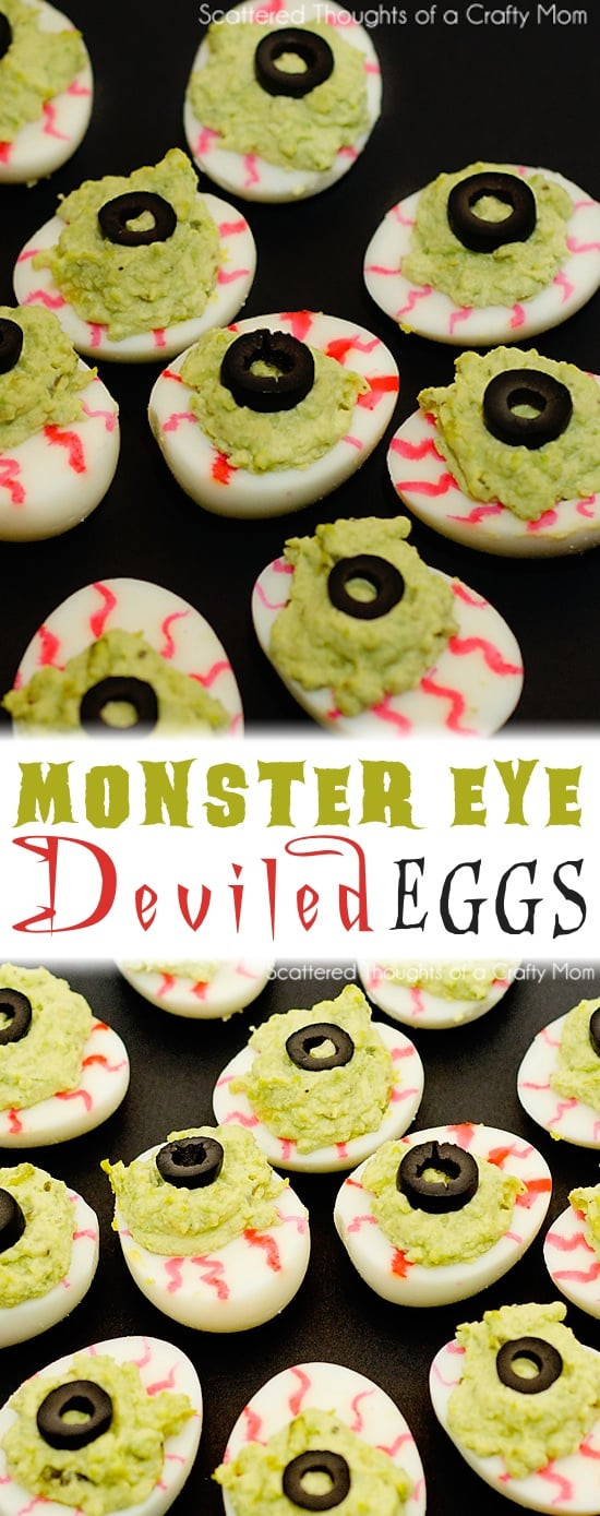 Deviled Eggs Halloween  Easy Halloween Party Appetizers Deviled Eggs 8 Ways