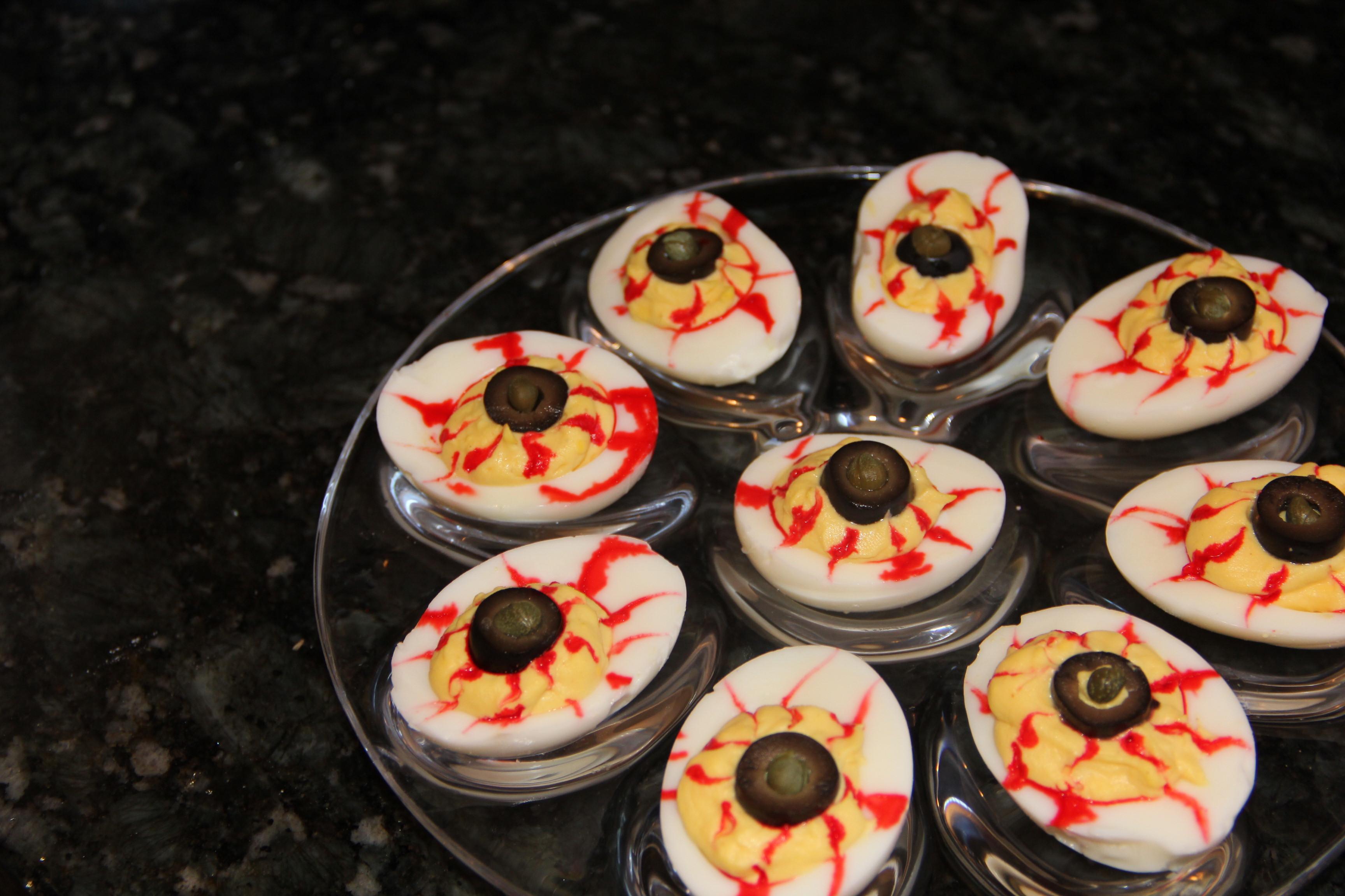 Deviled Eggs Halloween  Starters