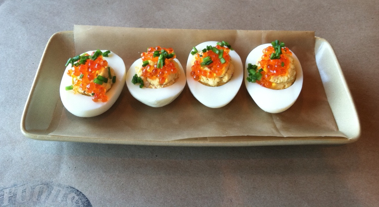 Deviled Eggs Thanksgiving  Capital Cooking with Lauren DeSantis Thanksgiving Recipes