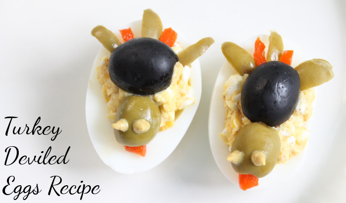 Deviled Eggs Thanksgiving  Turkey Deviled Eggs Recipe MomStart