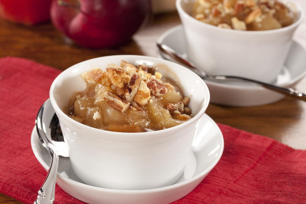 Diabetic Thanksgiving Dessert Recipes  Apple Cinnamon Crunch Cups