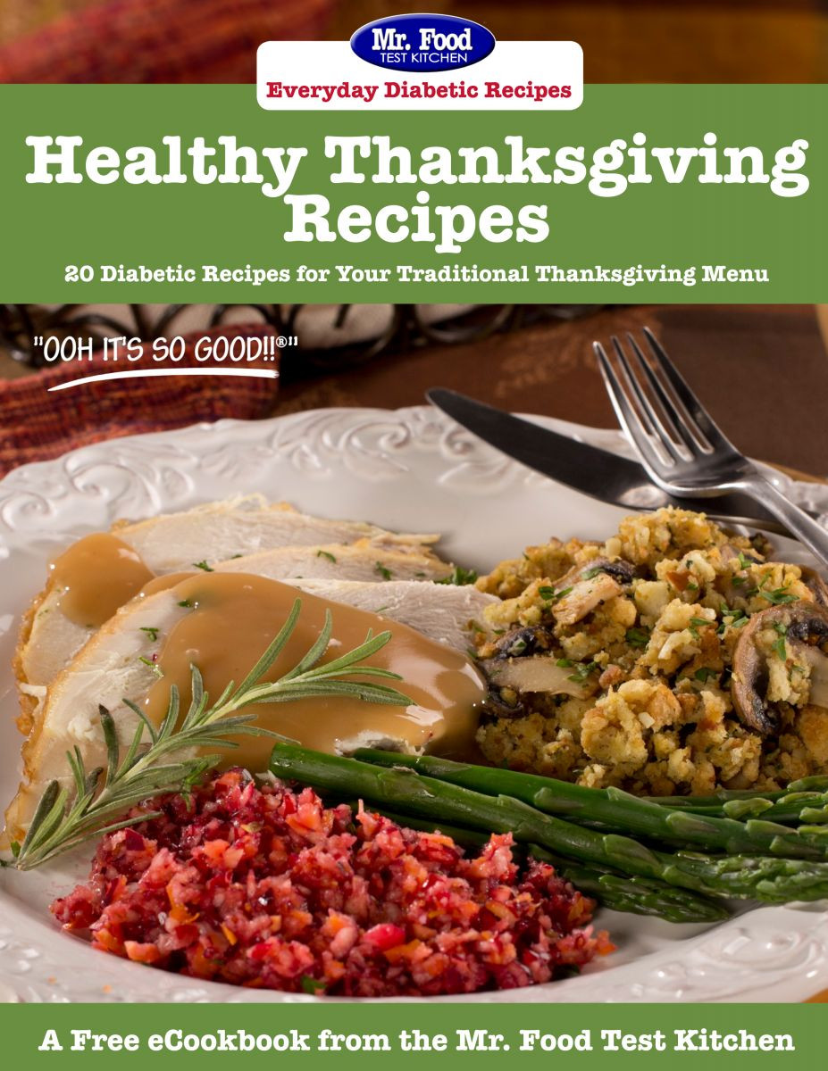 Diabetic Thanksgiving Recipes  Latest Free Recipe eCookbooks