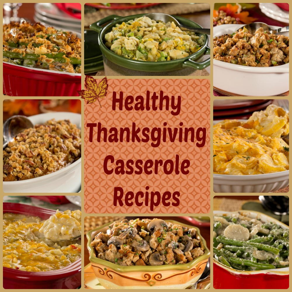 Diabetic Thanksgiving Recipes  Thanksgiving Casserole Recipes 9 Healthy Casserole