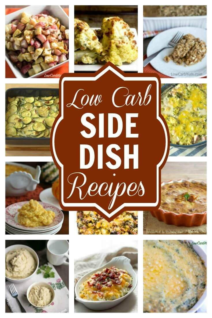 Diabetic Thanksgiving Side Dishes  1000 ideas about Low Carb Side Dishes on Pinterest