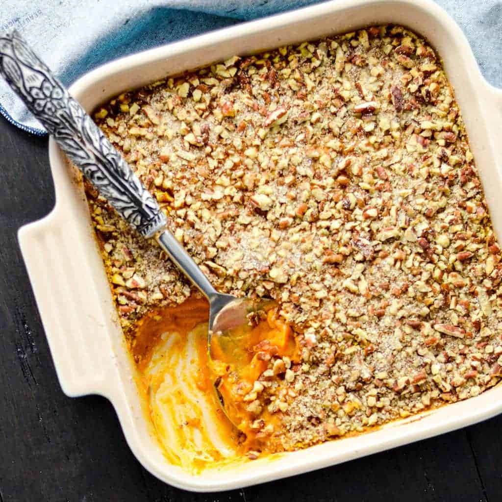 Diabetic Thanksgiving Side Dishes  Healthy Sweet Potato Casserole Paleo Vegan & Sugar Free