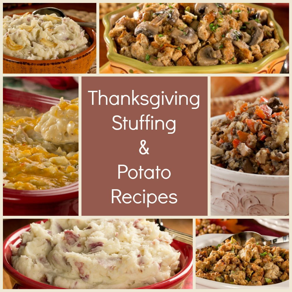 Diabetic Thanksgiving Side Dishes  The Best Thanksgiving Stuffing Recipes & Easy Potato Side