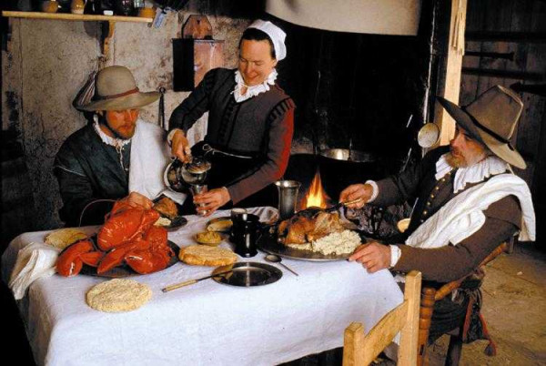 Did The Pilgrims Eat Turkey On Thanksgiving  How did people dress in the 1600 s Jamestown dress