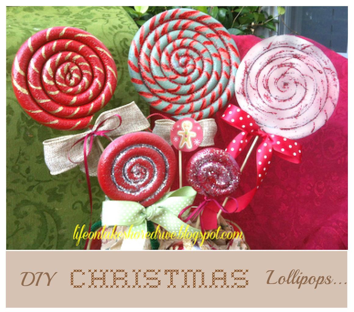 Diy Christmas Candy Decorations  Craftionary