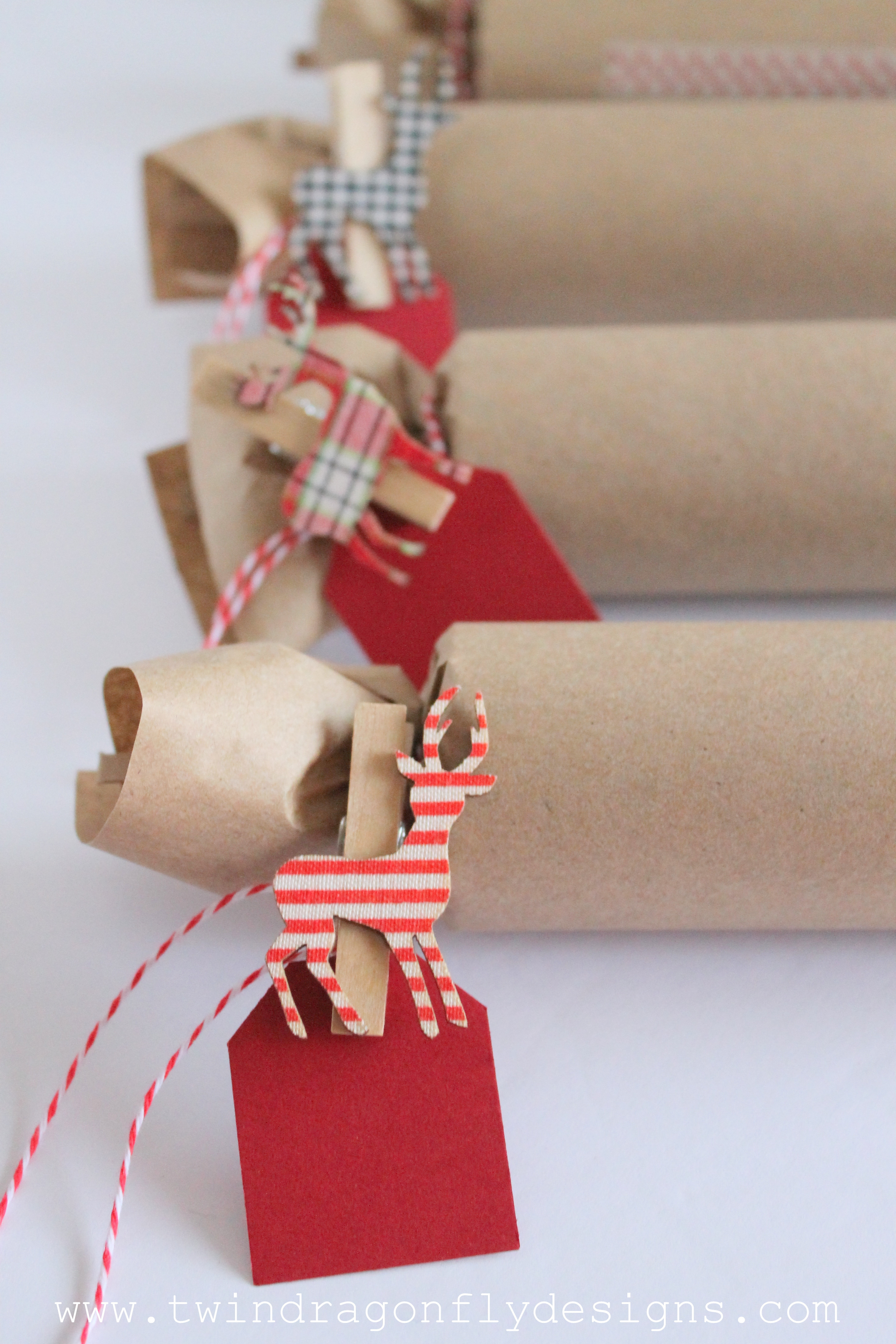Diy Christmas Crackers  DIY Holiday Cracker Dragonfly Designs