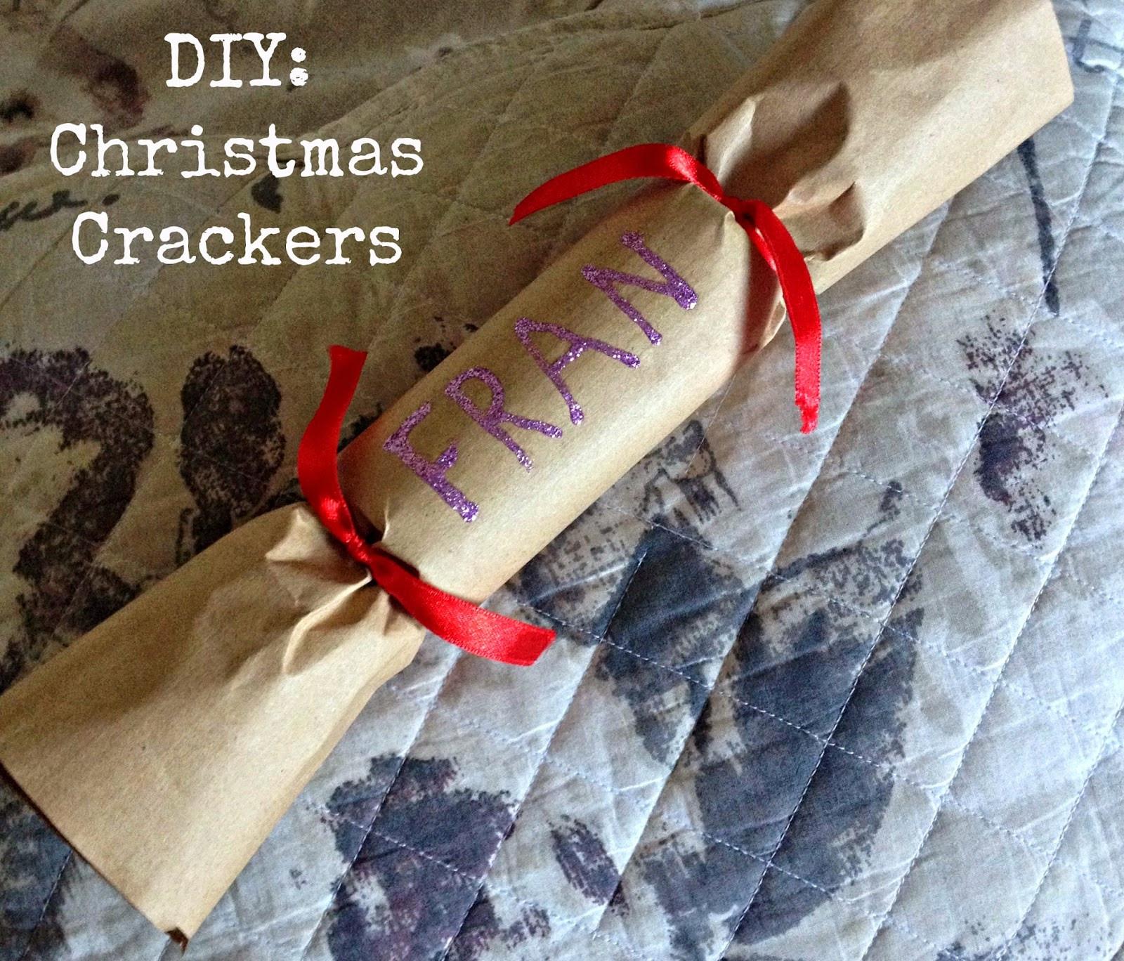 Diy Christmas Crackers  Emily & Han xo DIY Christmas Crackers