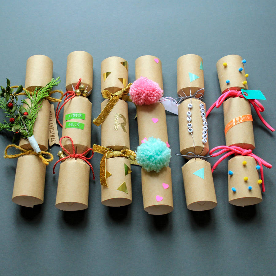 Diy Christmas Crackers  make and decorate your own crackers by berylune