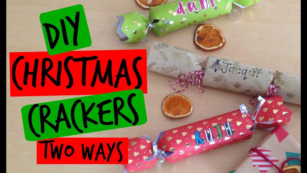 Diy Christmas Crackers  DIY CHRISTMAS CRACKERS TWO WAYS