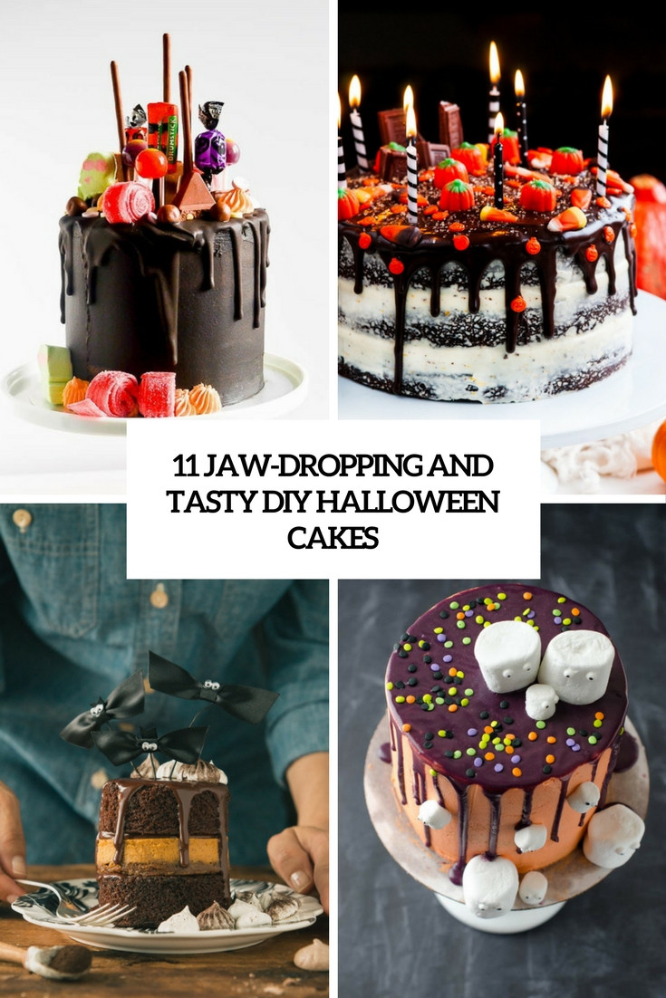 Diy Halloween Cakes  11 Jaw Dropping And Tasty DIY Halloween Cakes Shelterness