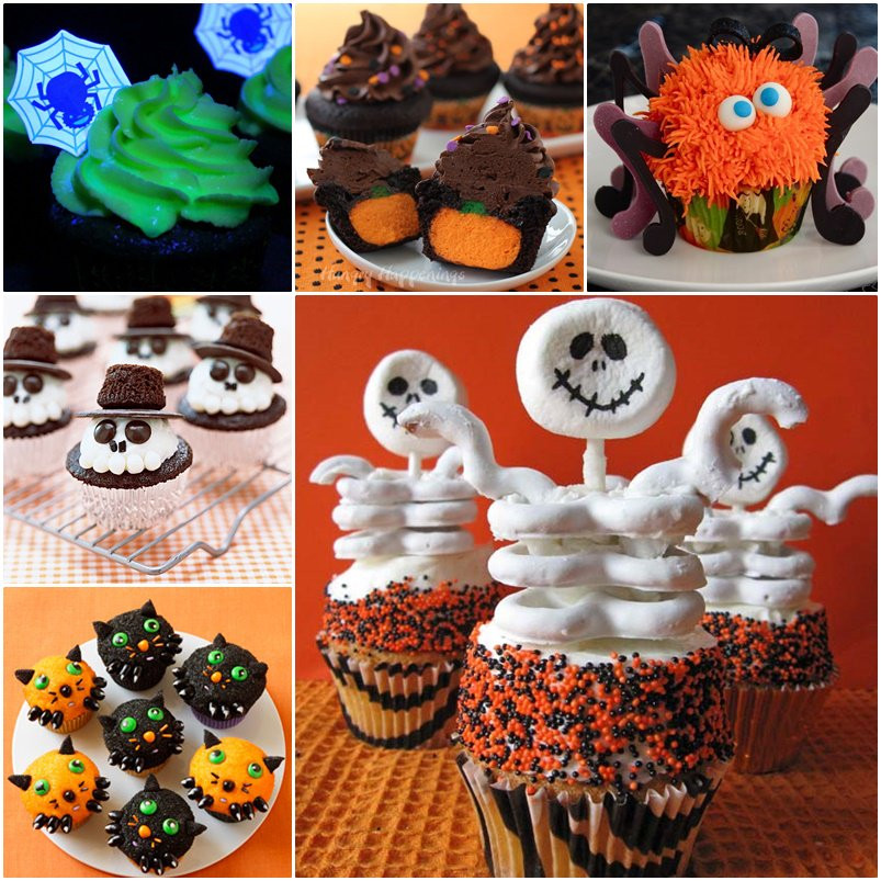 Diy Halloween Cupcakes  6 DIY Halloween Cupcake Ideas and Recipe