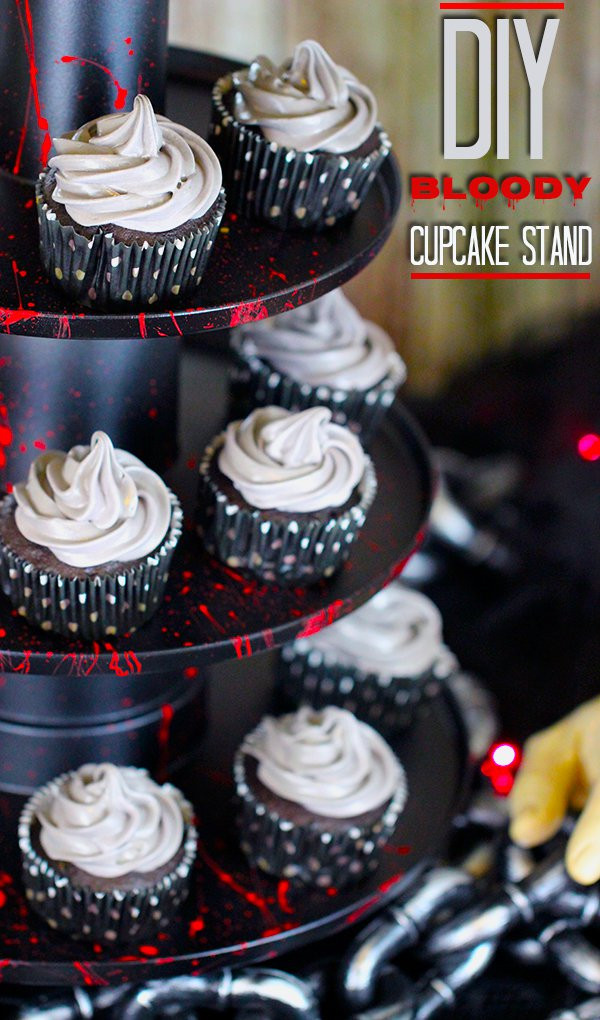 Diy Halloween Cupcakes  Spooky Halloween Party Ideas