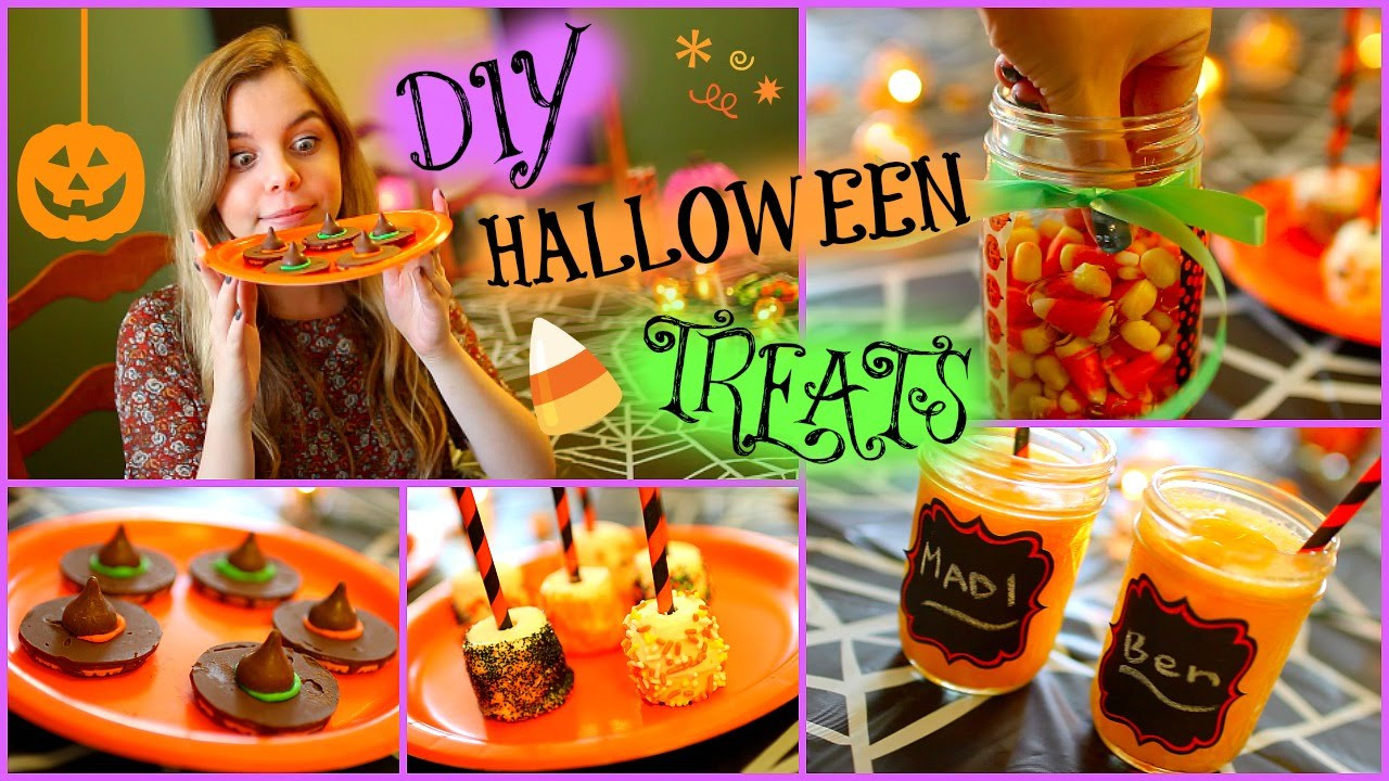 Diy Halloween Desserts  Easy DIY Halloween Treats