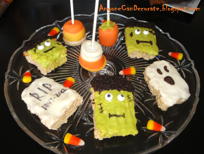 Diy Halloween Desserts  Anyone Can Decorate Easy DIY Sweets and Treats Fall