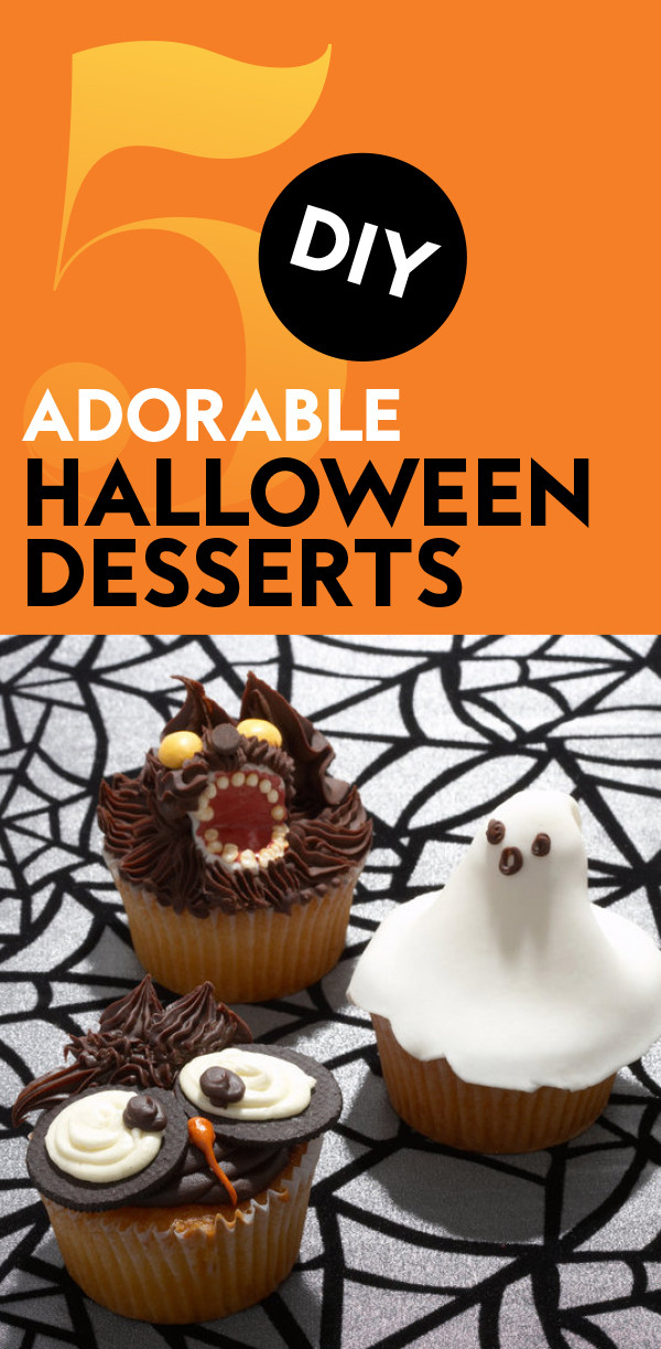 Diy Halloween Desserts  The Cutest DIY Halloween Treats