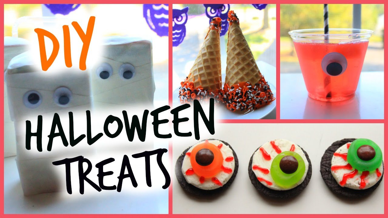 Diy Halloween Desserts  DIY Halloween Sweet Treats