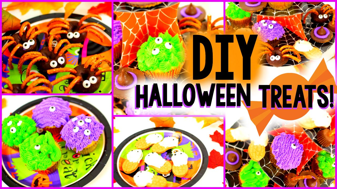 Diy Halloween Desserts  DIY Halloween Treats Easy &Yummy