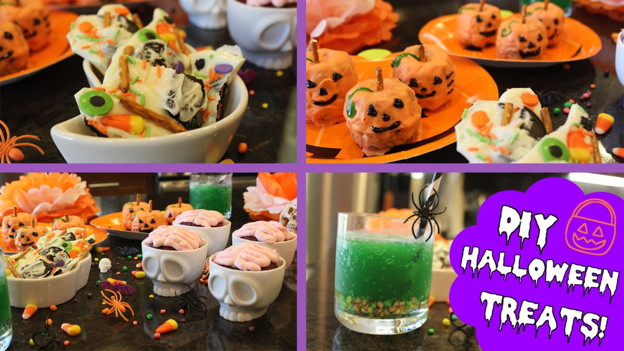 Diy Halloween Desserts  DIY Easy Halloween Treats ♡
