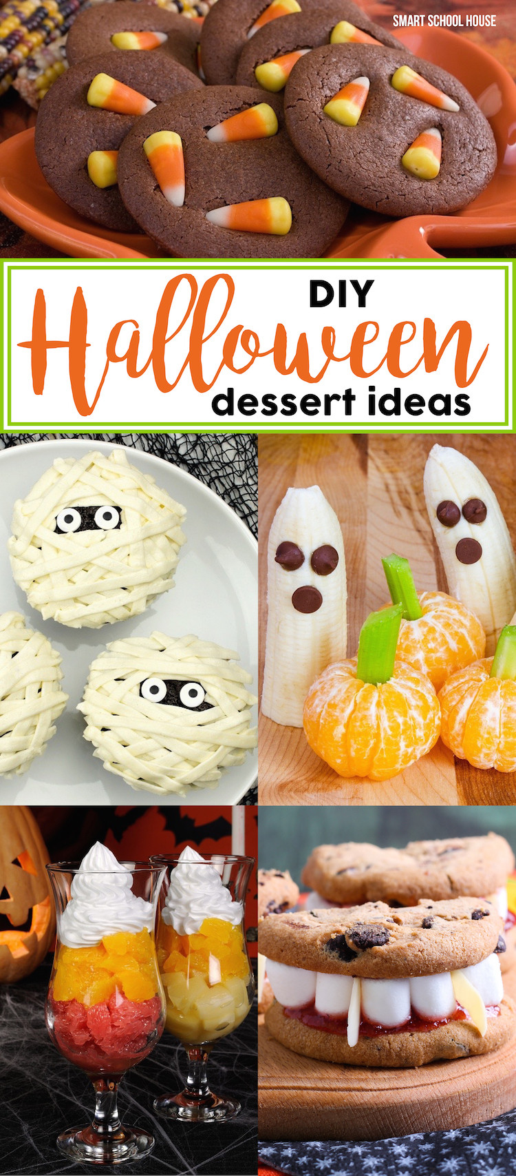 Diy Halloween Desserts  Halloween Dessert Ideas Smart School House