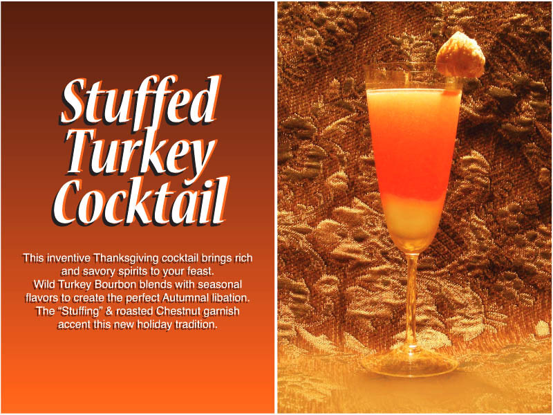 Drinks For Thanksgiving  Herb s Holiday Cocktail Gallery