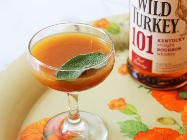 Drinks For Thanksgiving  Turkey and Sage Cocktail Recipe