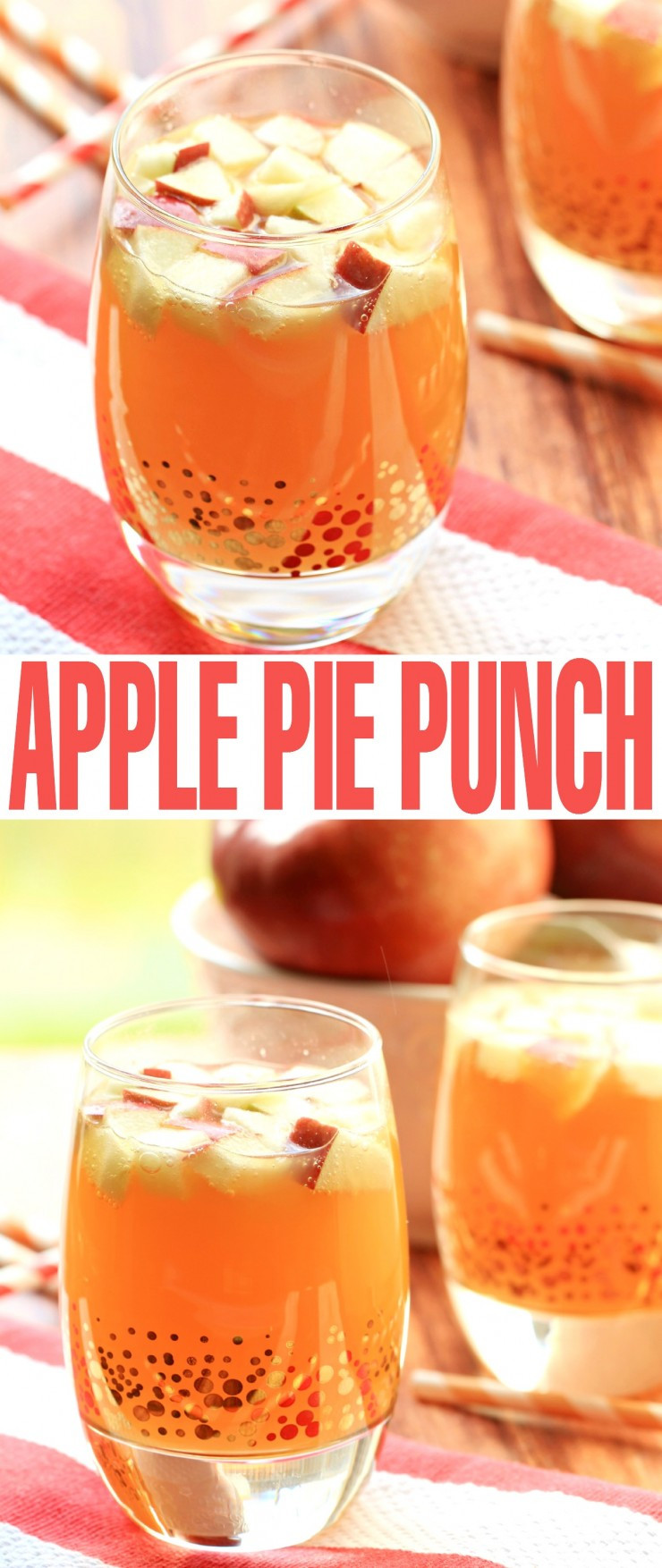 Drinks For Thanksgiving  Non Alcoholic Apple Pie Punch Frugal Mom Eh