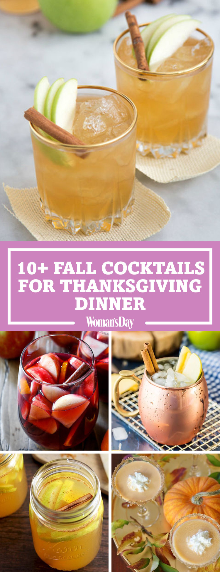 Drinks For Thanksgiving  14 Best Fall Cocktails for Thanksgiving Recipes for Easy