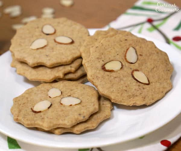 Dutch Christmas Cookies  Dutch Speculaas Cookies • Curious Cuisiniere