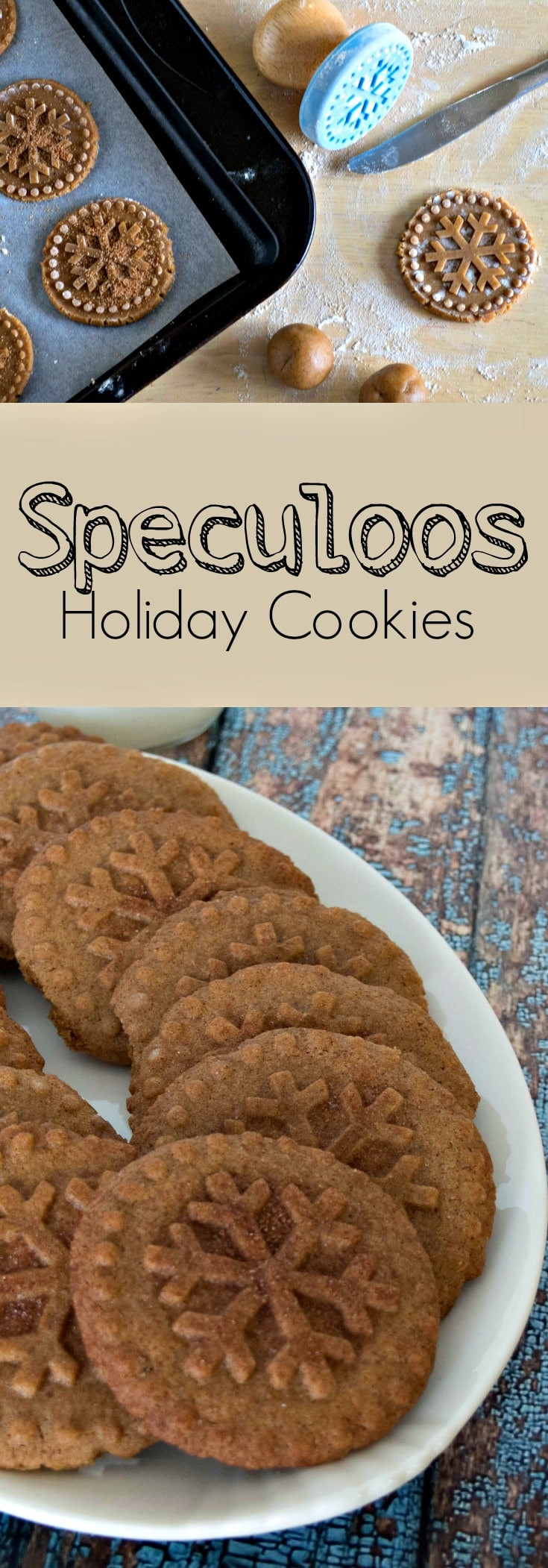 Dutch Christmas Cookies  Speculoos Dutch Windmill Cookies