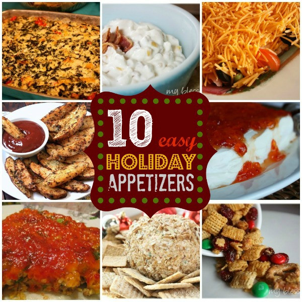 Easy Appetizers For Christmas  10 Easy Holiday Appetizers
