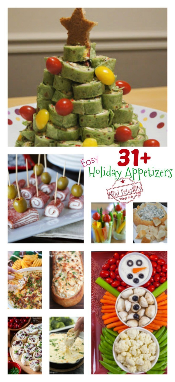 Easy Christmas Appetizers For A Crowd  Over 31 Easy Holiday Appetizers to Make for Christmas New