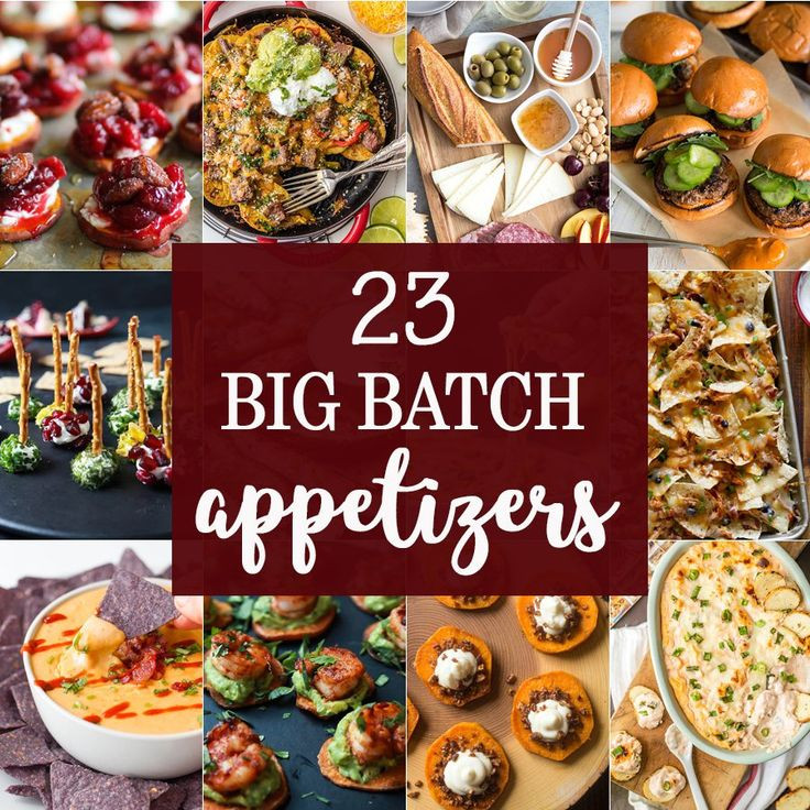 Easy Christmas Appetizers For A Crowd  1000 ideas about Appetizers For A Crowd on Pinterest