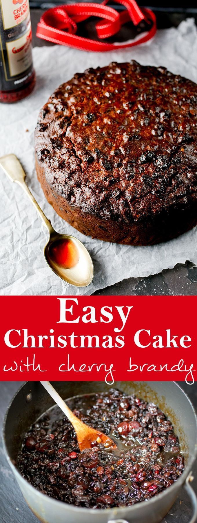 Easy Christmas Cake Recipe  17 Best Christmas Fruit Ideas on Pinterest