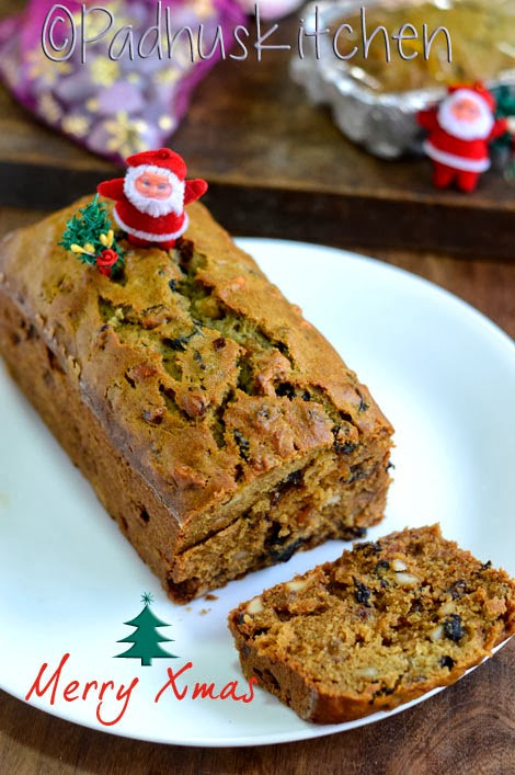 Easy Christmas Cake Recipe  Easy Christmas Fruit Cake Recipe Christmas Fruit Cake
