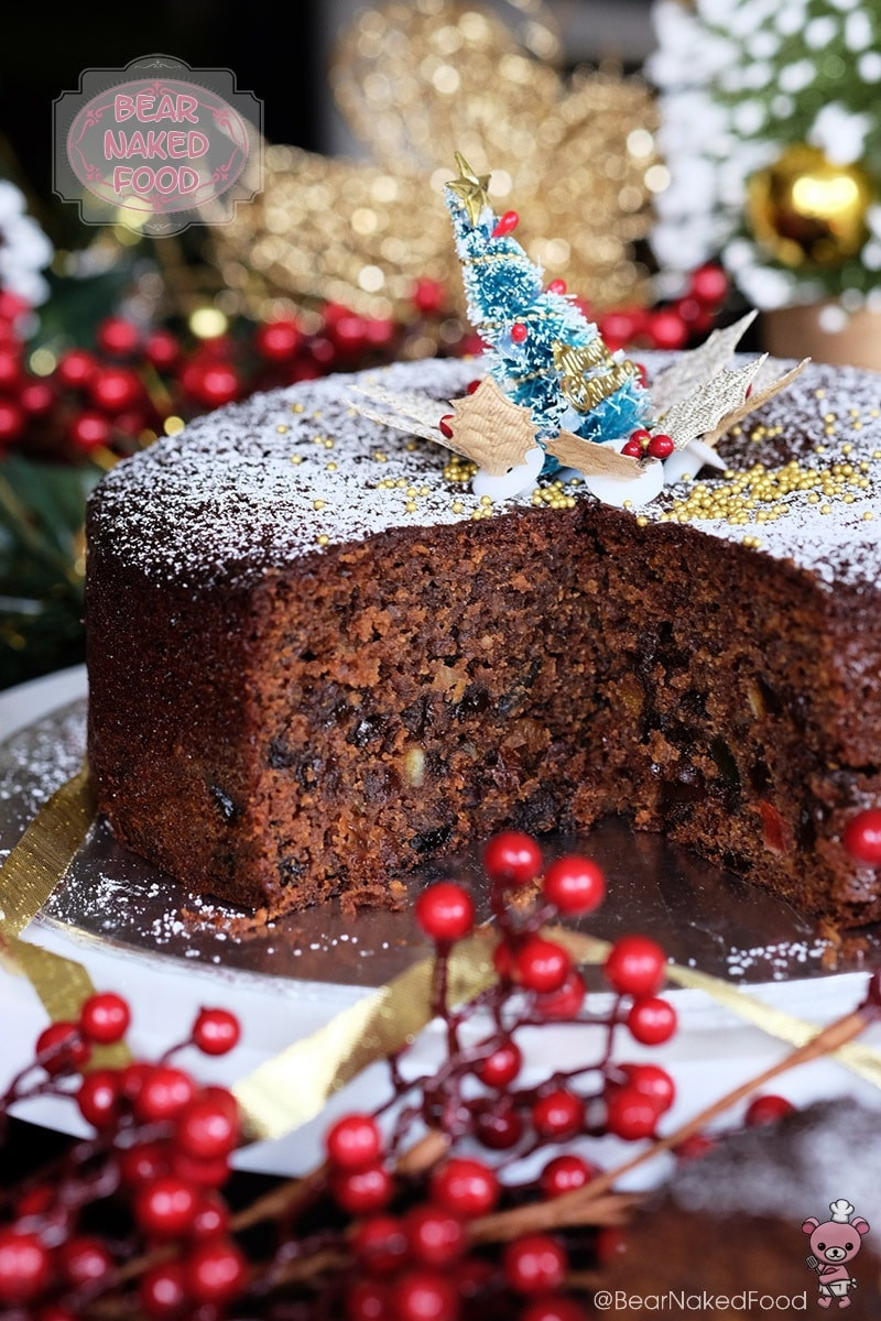 Easy Christmas Cake Recipe  Quick and Easy Christmas Fruit Cake