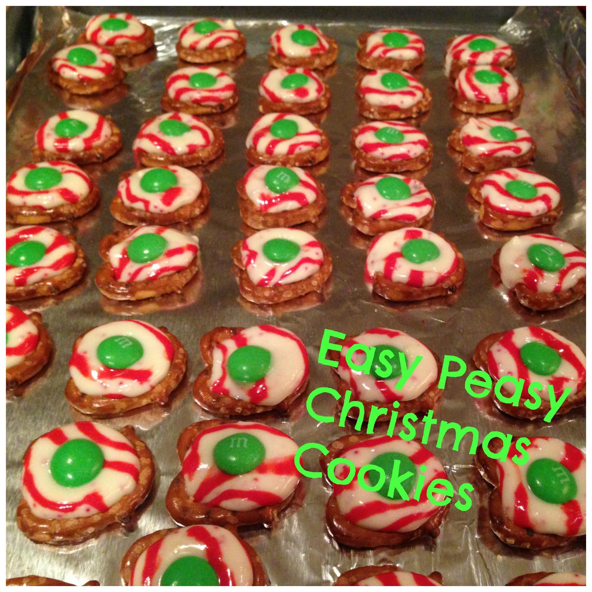 Easy Christmas Cookies  Easy Peasy Christmas Cookies Wrecking Routine