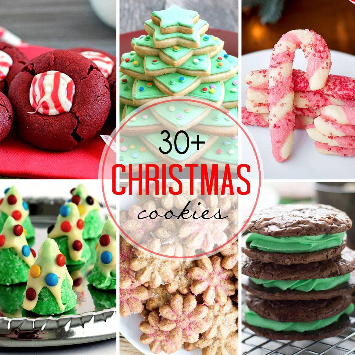 Easy Christmas Cookies  30 Easy Christmas Cookies LemonsforLulu