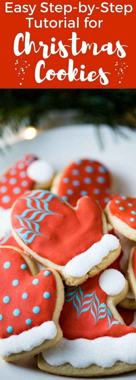 Easy Christmas Cookies Pinterest  Pinterest • The world's catalog of ideas