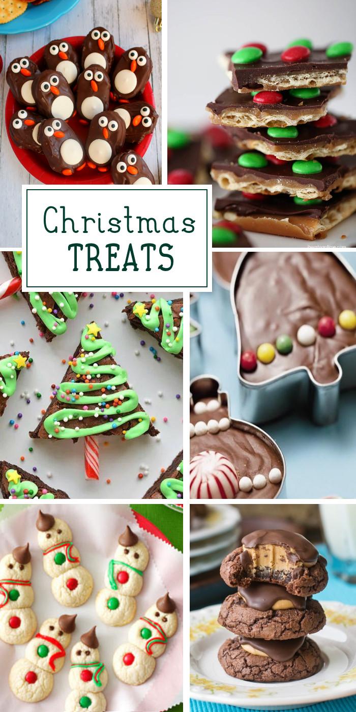 Easy Christmas Desserts For Kids  40 Fun Christmas Treats