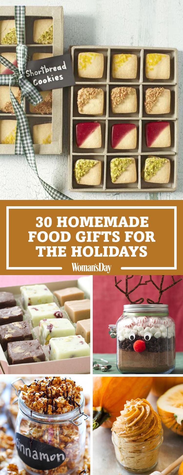 Easy Christmas Food Gifts  35 Homemade Christmas Food Gifts Best Edible Holiday