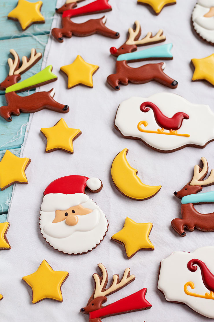 Easy Decorative Christmas Cookies  Christmas Cookies for Santa